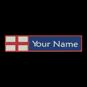 English Flag & Name